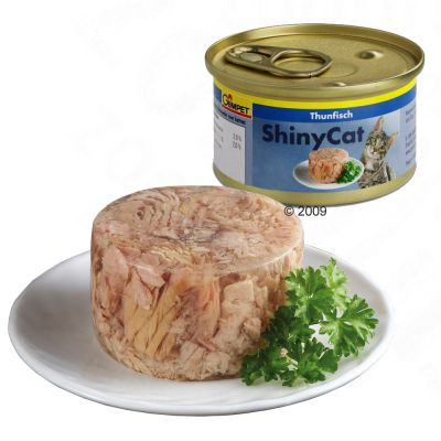 Gimpet Shiny Cat 6 x 85 g - Thunfisch & Huehnchen