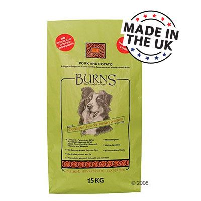 Burns Pork & Potato - 15 kg