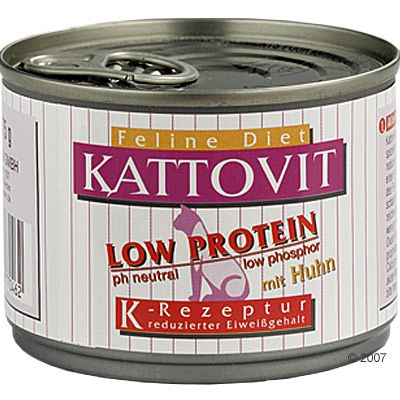 Kattovit Low Protein 6 x 85g - Chicken