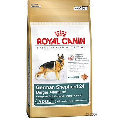 Royal Canin Breed Deutscher Schaeferhund 24 Adult Hundefutter - 12 kg