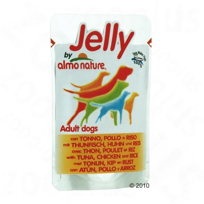 Jelly by Almo Nature 6 x 150 g - Thunfisch mit Huhn & Reis