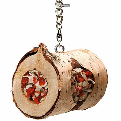 JR Birds Wood Log - 1 log