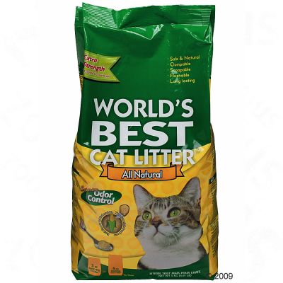 World´s Best Cat Litter Extra Strength - Saving Pack 2 x 15 kg