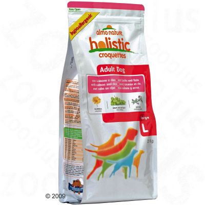 Almo Nature Adult Large Salmon & Rice - Economy Pack: 2 x 12 kg