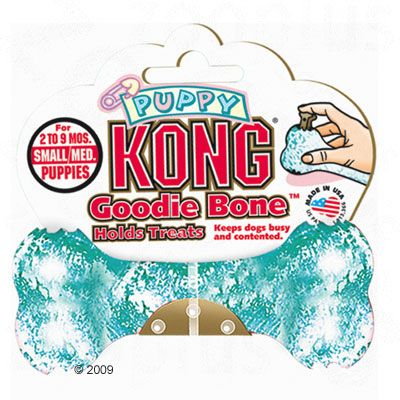 Kong Puppy Goodie Bone - Small