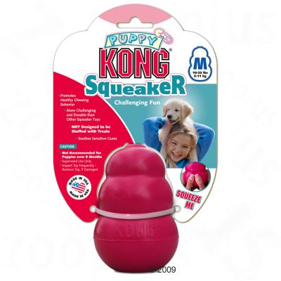 Kong Puppy Squeaker - Large