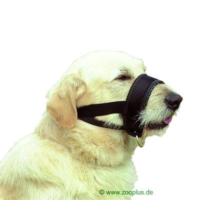 Trixie Nylon Muzzle Band - Size 1: Adjusts 18 - 30cm