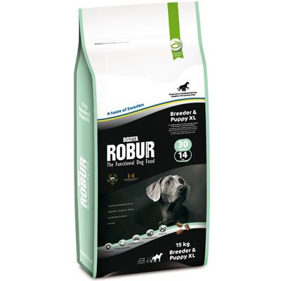 Bozita Robur Breeder & Puppy XL 30/14 - Economy Pack: 2 x 15kg