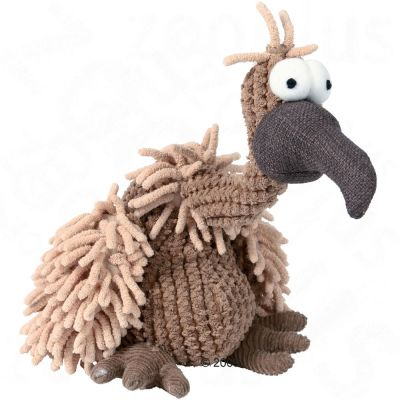 Plush Vulture Toy with Squeaker - 28 cm