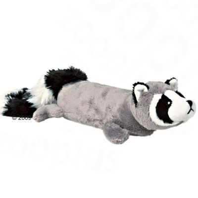 Trixie Plush Raccoon with Power Squeaker - 46 cm