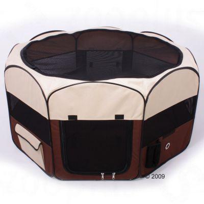 Enclos en nylon, moyen format pour rongeur & lapin - L 92 x l 92 x H 49 cm