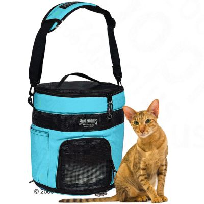 SturdiTote Pet Transport Bag - colour aqua