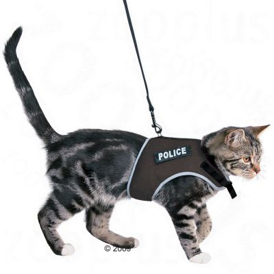 Trixie Cat Harness XCat - colour: red