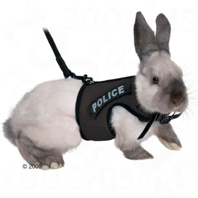 Trixie Rabbit Harness XBunny - Colour: red