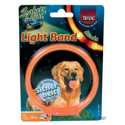 Reflekthalsband Light Band - 42 cm