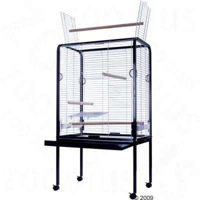 Parrot Cage Marrakesh - silver / black