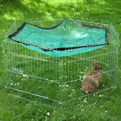 Outback Small Pet Run  - 6 Sided - 6 Elements, each 58 x 58 cm