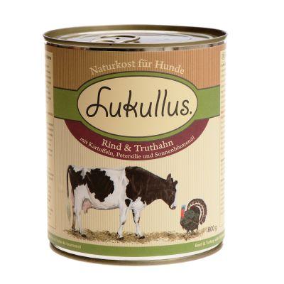 Lukullus Turkey & Beef - 6 x 800g