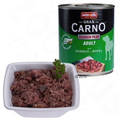 GranCarno Adult Meat Plus 6 x 800 g - Rabbit & Herbs