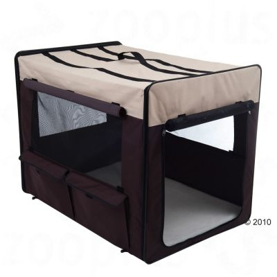 Dog Travel Crate First Class - 53.5 x 38 x 46 (L x W x H) (Size S)