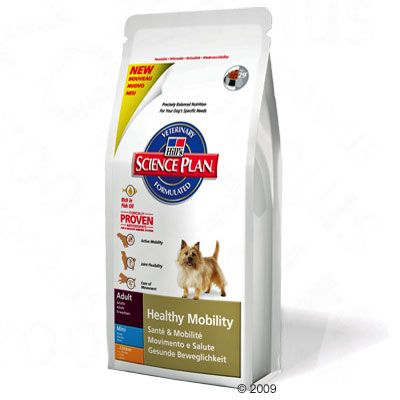 Hill's Science Plan Healthy Mobility Small Breed - Economy Pack: 3 x 3 kg