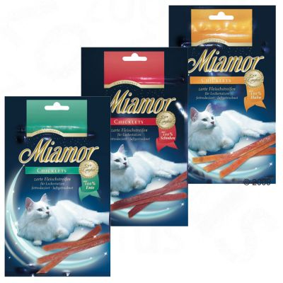 Miamor Cat Confect Chicklets - 3 x Ente, 75g