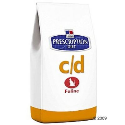 Hill´s Prescription Diet Feline - C/D Chicken & Rice - 5 kg