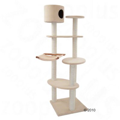 Cat Tree Oak - beige (3 packages)
