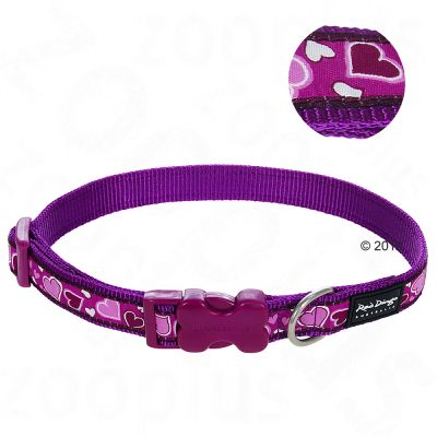 Red Dingo Halsband Breezy Love Purple Maat M