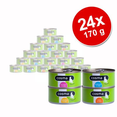 Savings Pack Cosma Original in Jelly 24 x 170 g - Mackerel