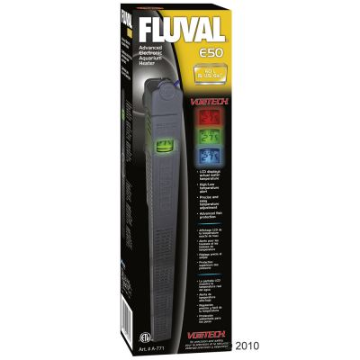 Chauffage Hagen Fluval série E- E 100, 100 watts jusqu´à 120 litres