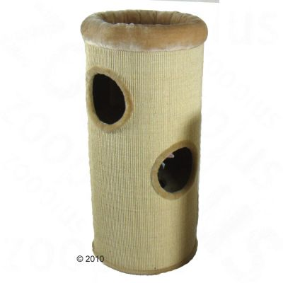 Diogenes XXL Scratching Barrel - beige