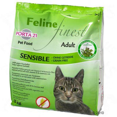Porta 21 Feline Finest Sensible - Grain Free - Economy Pack: 2 x 10 kg