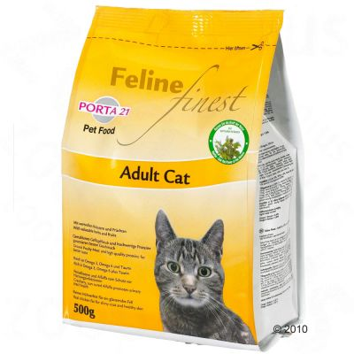 Porta 21 Feline Finest Adult Cat - Economy Pack: 2 x 10kg