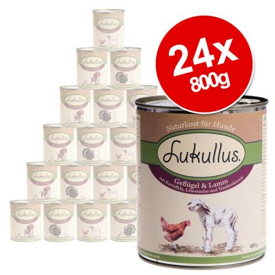 Lukullus Saver Pack 24 x 800g - Mixed Pack 4