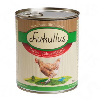 Lukullus Summer Menu: Tender Chicken - 6 x 400 g
