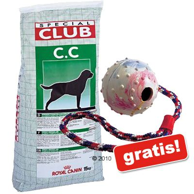 15/20 kg Royal Canin Special Club + Gummiball gratis! - Special Club Performance Junior (15 kg)