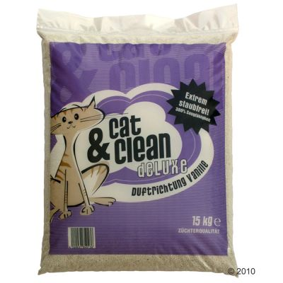 Cat & Clean de Luxe with Vanilla Fragrance - 15 kg