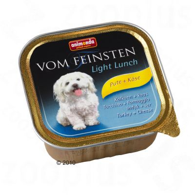Animonda vom Feinsten Light Lunch 6 x 150g - Turkey & Cheese