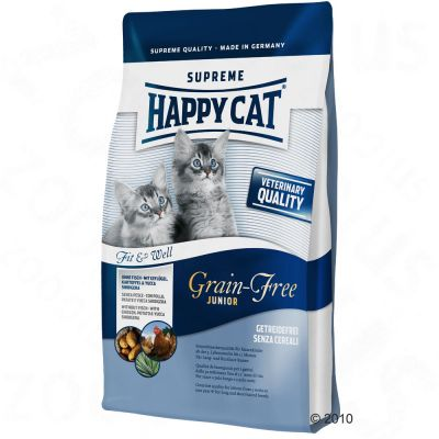 Happy Cat Fit & Well Grain-Free Junior - 4 kg
