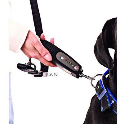 Appareil anti-traction pour chien DogEwalk à ultrason- L 17 x l 4 x H 2,5 cm, noir
