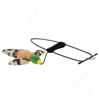 Trixie Cat Toy Bird for Door Frames - 13 cm / 175 cm