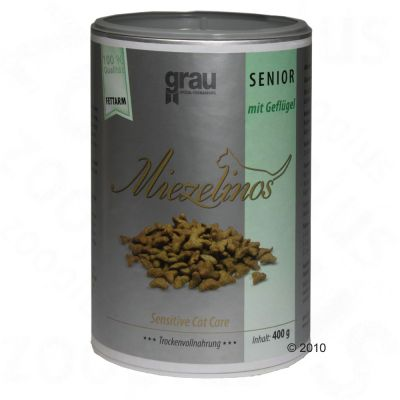 Grau Miezelinos Senior with Poultry - 400 g