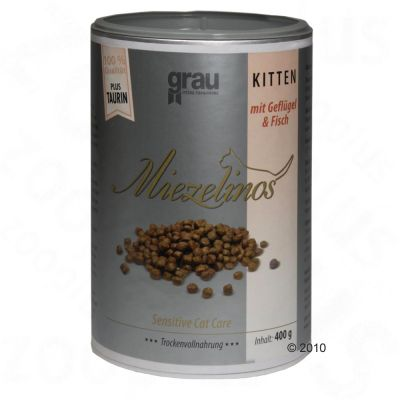 Croquettes Grau Miezelinos Chaton, volaille & poisson- 400 g