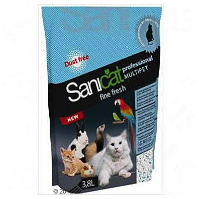 Sanicat Professional Multipet Fine Fresh - 3.8 l