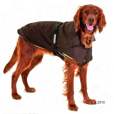 Dog Coat No Limits Brown -  48 cm back length