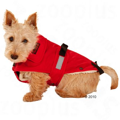 Dog Coat No Limits Red -  48 cm back length