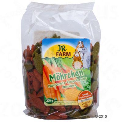 Biscuits carotte et herbes pour rongeur et lapin JR Farm- 200 g