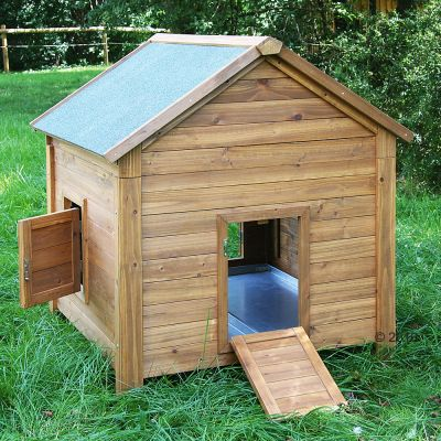 Little Farm Hutch for Chickens or Rabbits - 100 x 107 x  108 cm (L x W x H)