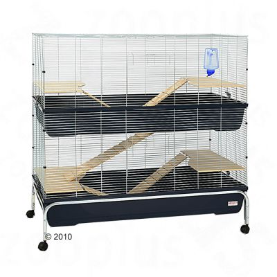 Essegi Small Pet Cage Virginia 120 - dark blue: 118 x 58 x 120 cm (L x W x H)